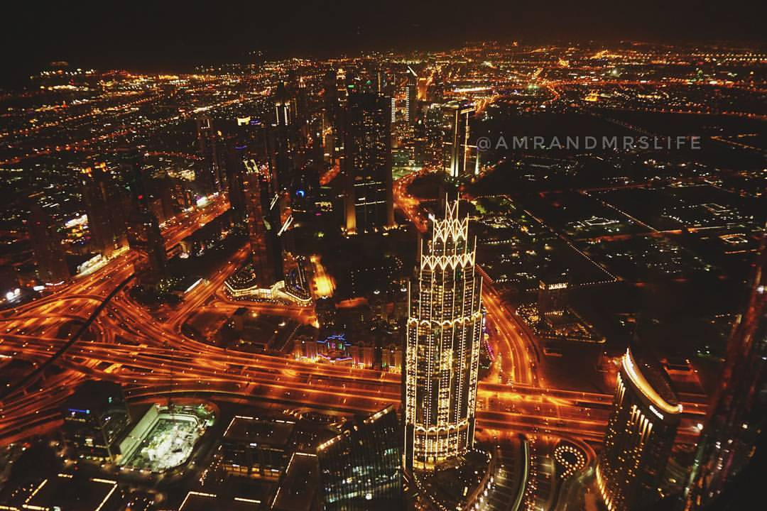 View from the burj, on the 124th floor.